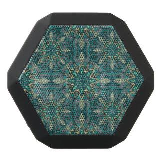 Buntes abstraktes ethnisches Blumenmandalamusterde Schwarze Bluetooth Lautsprecher
