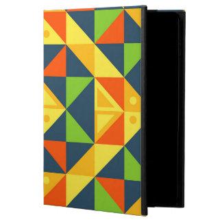 Buntes abstraktes geometrisches Gitter