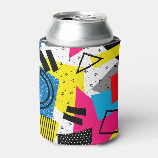 Buntes abstraktes geometrisches Jahr-Muster Dosenkühler