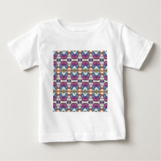 Buntes abstraktes Muster Baby T-shirt