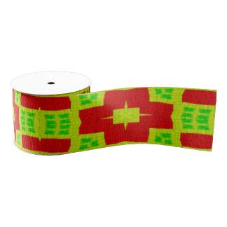 buntes abstraktes stilvolles Muster Ripsband