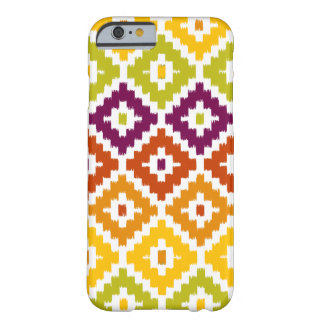 Buntes aztekisches Stammes- Druck Ikat Barely There iPhone 6 Hülle