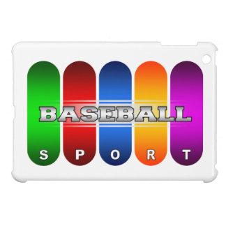 Buntes Baseball iPad Minifall iPad Mini Hülle