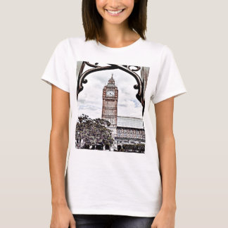 Buntes Big Ben T-Shirt