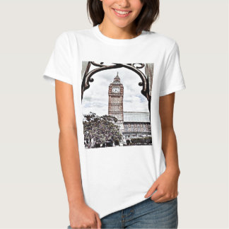 Buntes Big Ben Tshirts