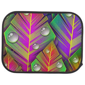 Buntes Blätter Autofußmatte