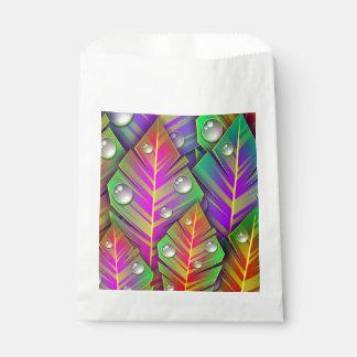 Buntes Blätter Geschenktütchen