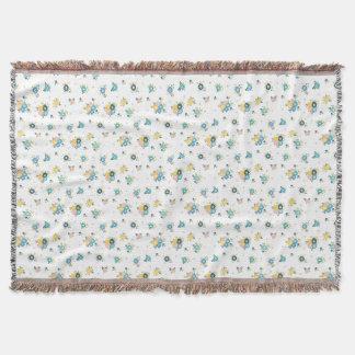 Buntes Blumenmuster Decke