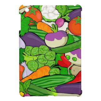 Buntes Cartoon-Gemüse iPad Mini Cover