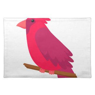buntes cooles des Vogelkunst-Entwurfs Tischset