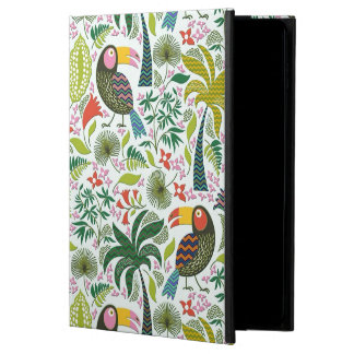 Buntes exotisches Vogel-und Blumen-Muster