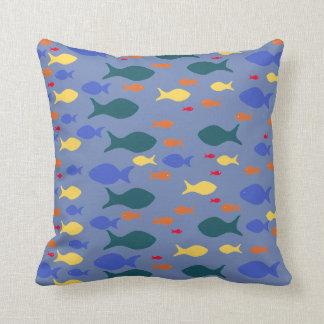 Buntes Fisch-Kissen-Wurfs-Kissen Kissen