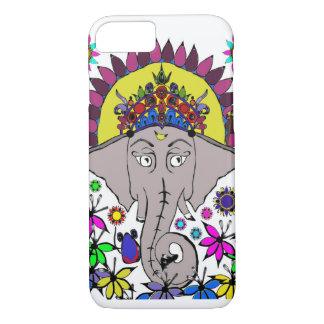 Buntes Ganesh iPhone 8/7 Hülle