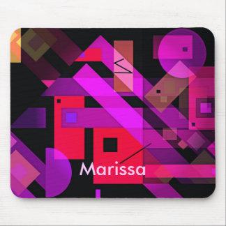 Buntes geometrisches abstraktes für Geschenke u. Mousepad