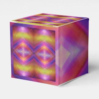 Buntes geometrisches abstraktes geschenkschachtel