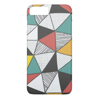 Buntes geometrisches Iphone7 plus Fall iPhone 8 Plus/7 Plus Hülle