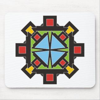 buntes geometrisches mauspads