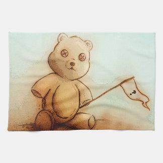 Buntes Geschirrtuch - Teddybär
