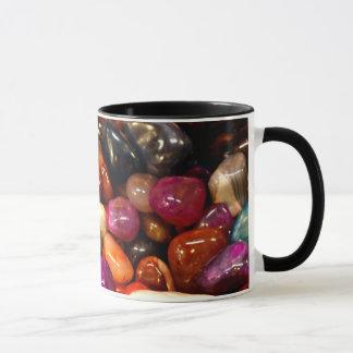 Buntes glattes Stein-Foto Tasse