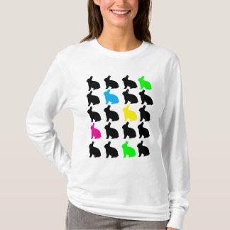 Buntes Häschen-Shirt T-Shirt