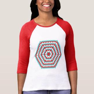 Buntes Hexagon T-Shirt