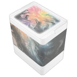 buntes Himmeltauchen Kühlbox
