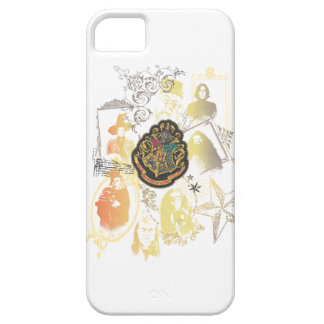 Buntes Hogwarts Wappen Harry Potter   iPhone 5 Schutzhüllen