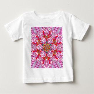 Buntes Kaleidoskop-Muster: Baby T-shirt
