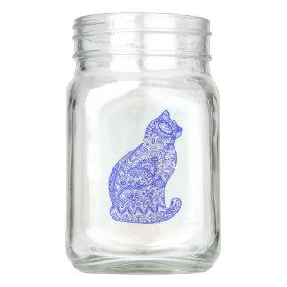 Buntes Katzen-Weckglas Einmachglas