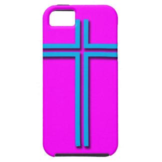 Buntes Kreuz Hülle Fürs iPhone 5