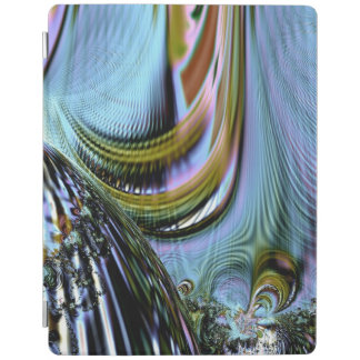 Buntes KristallFraktal iPad Smart Cover
