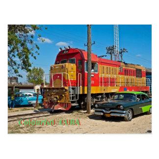 Buntes Kuba Postkarte