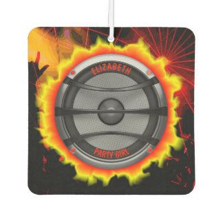 Buntes lautes Musik-Lautsprecher-Tanzen-Party Lufterfrischer