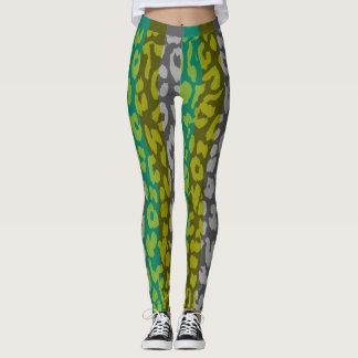Buntes Leopard-Haut-Muster #16 Leggings