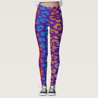 Buntes Leopard-Haut-Muster #33 Leggings