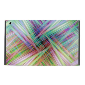 Buntes Licht schleppt Muster Etui Fürs iPad
