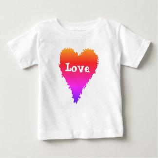 Buntes Liebeherz Baby T-shirt