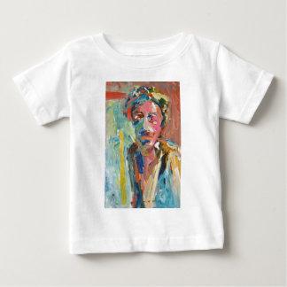 Buntes Mann-Porträt Baby T-shirt