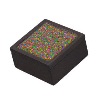 Buntes Metall spielt erstklassiges Schmuckkästchen Kiste