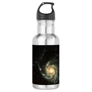 buntes Milchstraßegalaxie-Sonnensystem Edelstahlflasche
