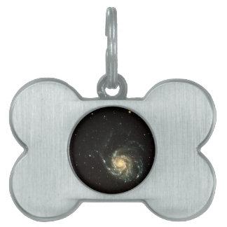 buntes Milchstraßegalaxie-Sonnensystem Tiermarke