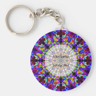 Buntes Mosaik Schlüsselanhänger