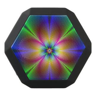 Buntes Neongänseblümchen Schwarze Bluetooth Lautsprecher