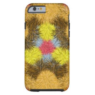 Buntes PelzKaleidoskop Tough iPhone 6 Hülle