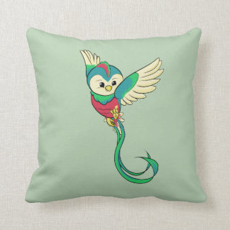 Buntes Quetzal! Kissen