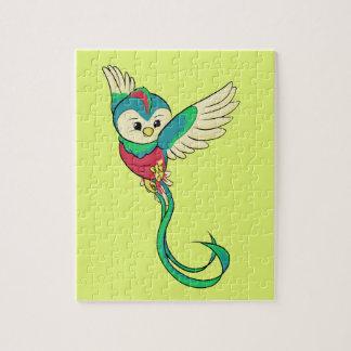 Buntes Quetzal! Puzzle