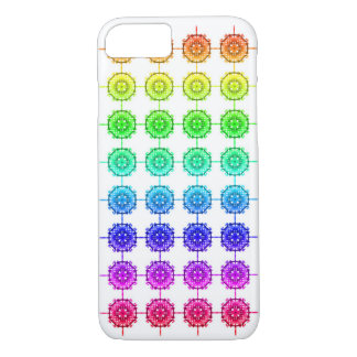 Buntes Regenbogen-Muster kaum dort iPhone 8/7 Hülle