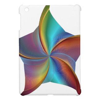 Buntes Regenbogen-Prisma-wirbelnder Stern iPad Mini Hülle