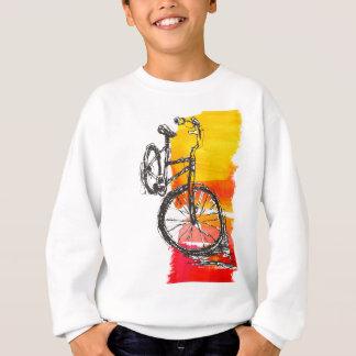 Buntes rotes Fahrrad Sweatshirt
