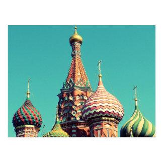 Buntes Russland Postkarte